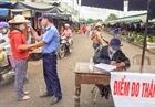 Hà Nội đảm bảo phòng chống dịch bệnh tại chợ đầu mối