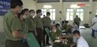 Cán bộ, chiến sỹ Công an Hà Nam hiến máu tình nguyện