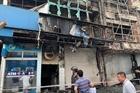 Xác định nghi can gây ra vụ cháy ngân hàng