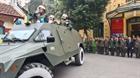 Công an Hà Nội ra quân bảo đảm an ninh trật tự Đại hội XIII của Đảng