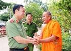 Thứ trưởng Lê Tấn Tới chúc tết Chôl Chănm Thmây