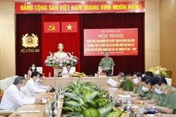 Bộ Công an phát lệnh ra quân bảo đảm ANTT Ngày bầu cử