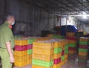 Cơ sở dùng hóa chất công nghiệp dệt chế biến hải sản