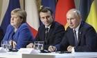 Pháp, Đức đề xuất EU họp thượng đỉnh với Nga