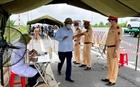 Thứ trưởng Nguyễn Văn Sơn làm việc với Cục Cảnh sát giao thông