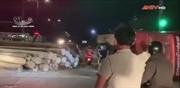 Cảnh tai nạn kinh hoàng vì vượt đèn đỏ