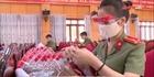Tuổi trẻ Công an Hà Tĩnh làm tặng 1000 tấm chắn giọt bắn