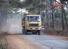 Huyện Đắk RLấp: Dân bất an vì xe chở đá