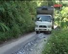 Tuyến đường Cao Trĩ - Quảng Khê thi công hơn 10 năm vẫn dang dở