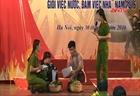 Hội thi Nữ Cảnh sát PCCC cứu nạn, cứu hộ 2 giỏi