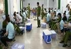 Tuổi trẻ trường Cao đẳng CSND 2 hiến máu tình nguyện