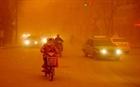 Bão cát hoành hành ở Trung Quốc