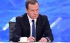 Thủ tướng Medvedev: Nga đã sẵn sàng áp lệnh trừng phạt đáp trả Mỹ