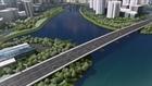 Thông xe cầu bắc qua đảo Kim Cương, TP.HCM