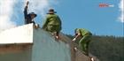 Tuổi trẻ Công an Quảng Nam giúp dân vùng lũ dựng nhà