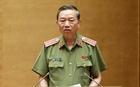 Bộ trưởng Tô Lâm trả lời chất vấn trước Quốc hội