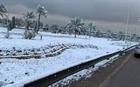 Tuyết rơi ở Baghdad sau nhiều thập kỷ