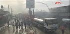 Cháy nổ tại trại tị nạn ở Dải Gaza gây nhiều thương vong