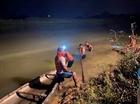 Trắng đêm tìm thi thể nam sinh đuối nước trên sông Yên