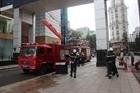 Thực tập phương án chữa cháy, cứu hộ tại trung tâm thương mại