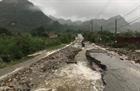 Mưa lớn gây sạt lở nhiều tuyến đường ở Lai Châu