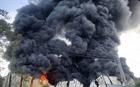 Cháy lớn tại nhiều công ty ở Bình Dương
