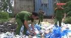 Quảng Nam. Phát hiện 2 cơ sở bỏ rác thải không đúng quy định