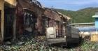 Bình Định: Cháy kho hàng thuốc xịt côn trùng