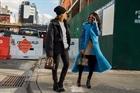 Thời trang đường phố lên ngôi tại tuần lễ thời trang New York