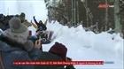 Lễ hội hóa trang trượt tuyết tại Nga