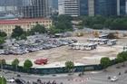 Xử lý bãi trông xe trái phép lớn nhất ở Hà Nội