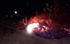 Bình Định: Nhanh chóng dập tắt đám cháy rừng trong đêm