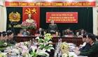 Bộ trưởng Tô Lâm làm việc với Công an tỉnh Cao Bằng