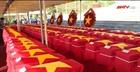 Kiên Giang truy điệu, an táng 262 hài cốt liệt sĩ