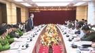 Hoạt động nổi bật của lãnh đạo Bộ Công an tuần qua