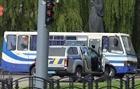 Ukraine: 20 người bị bắt làm con tin trên xe khách