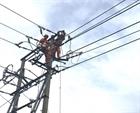 Cấp tốc khôi phục lưới điện bị sự cố do bão số 5