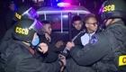 Xử lý nhóm thanh thiếu niên ném gạch đá vào Cảnh sát cơ động