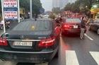 Công an xác minh vụ 2 chiếc Mercedes cùng biển số ở Hà Nội