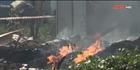 Cháy lớn tại xưởng gỗ, nhiều tài sản bị thiêu rụi