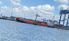 Cứu nạn tàu container bị lật tại Tân Cảng Hiệp Phước