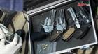 Ập vào căn nhà khả nghi, Công an bắt 10kg ma túy, 5 khẩu súng đã lên đạn