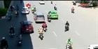 Đi ngược chiều đe dọa an toàn giao thông