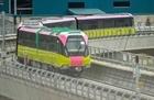 Đường sắt Nhổn - Ga Hà Nội chạy thử toàn tuyến trên cao