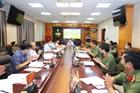 Đoàn kiểm tra của Ban Bí thư làm việc với Ban Thường vụ Đảng ủy Cục Truyền thông CAND