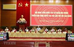 Tổng Bí thư dự Hội nghị trực tuyến toàn quốc các cơ quan Nội chính