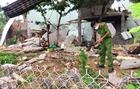 Nổ lớn sập nhà dân, hai vợ chồng tử vong
