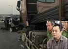 Xem xét lại vụ án xe container đâm xe Innova chạy lùi trên cao tốc.
