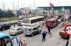 Triệu tập 8 đối tượng gây rối tại trạm thu phí Quốc lộ 5A