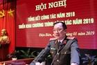 Công an tỉnh Điện Biên triển khai công tác năm 2019